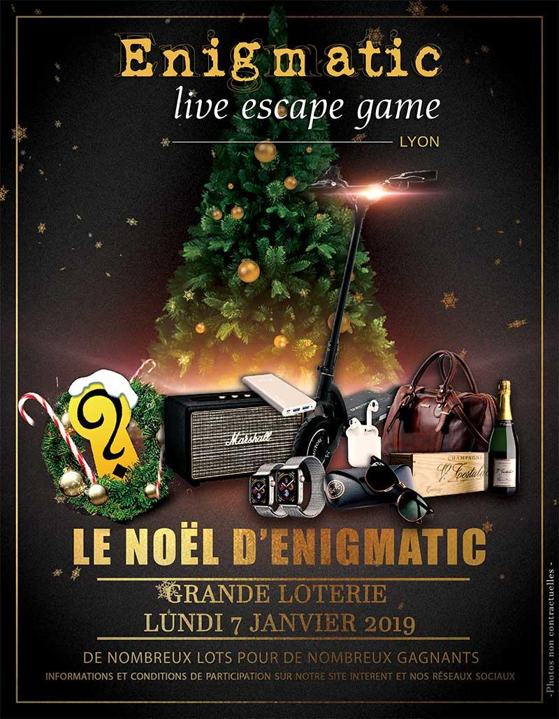 Jeu concours Enigmatic | Enigmatic Lyon - Live Escape Game à Lyon